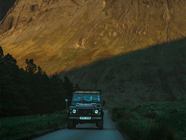 Landrover Isle of Skye